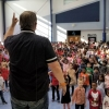 School Assemblies with Professor Brainius